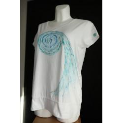 Tričko Modrá spirála